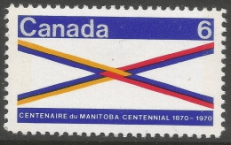 Canada. 1969 Centenary Of Manitoba. 6c MH. SG 647 - 1952-.... Reign Of Elizabeth II