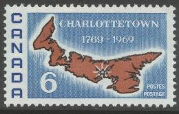 Canada. 1969 Bicentenary Of Charlottetown As Capital Of Prince Edward Island. 6c MH. SG 642 - 1952-.... Reign Of Elizabeth II