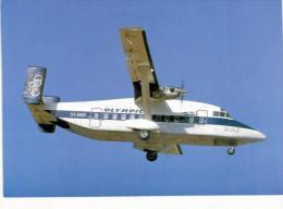 Thème -  Avion -  Collection Vilain G82 - Série Limitée à 600 Ex. - Olympic Airways - SHorts 330 200 - Athènes 84 - 1946-....: Era Moderna