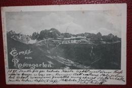 1899 GRUSS VOM ROSENGARTEN -- BOZEN - Bolzano (Bozen)