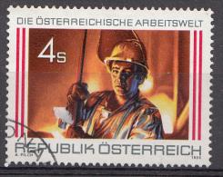 AUTRICHE Mi.nr: 1872 Stahlindustrie 1986 OBLITÉRÉS / USED / GESTEMPELD - 1945-.... 2de Republiek