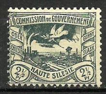 HAUTE SILESIE..1920..Michel # 13...MH...Excellent Condition. - Neufs