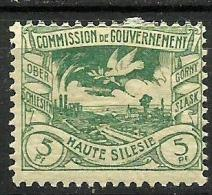 HAUTE SILESIE..1920..Michel # 15...MH. - ....-1919 Provisional Government