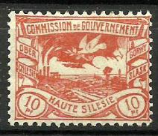 HAUTE SILESIE..1920..Michel # 16...MH. - ....-1919 Provisional Government
