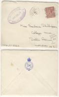 Brazil To GB 1925 Ship Cover Rio De Janeiro Posted On High Seas RMSP Deseado - Covers & Documents