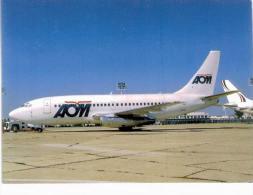 Thème -  Avion -  Collection Vilain G193 - Série Limitée à 600 Ex. - AOM B737 200 Advanced - Orly 1997 - 1946-....: Moderne