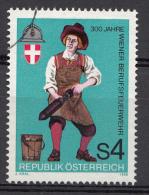 AUTRICHE Mi.nr:1861 300.Jahre Wiener Berufsfeuerwehr 1986 OBLITÉRÉS / USED / GESTEMPELD - 1945-.... 2nd Republic