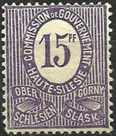 HAUTE SILESIE..1920..Michel # 5...MH. - ....-1919 Provisional Government