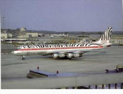 Thème -  Avion -  Collection Vilain G341 - Série Limitée à 600 Ex. - African Safari DC8 53 - Frankfort - 1946-....: Moderne