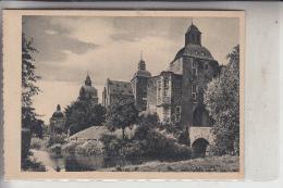 4050 MÖNCHENGLADBACH, Schloß Myllendonk, Rückseitig Klebereste - Mönchengladbach