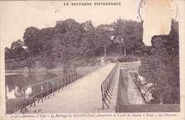22124 PRES D'UZEL BARRAGE DE BOSMELAC Alimentant Canal Nantes Brest -la Chaussée -4244 AW -! état ! - Non Classés
