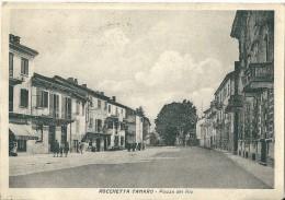 ROCCHETTA TANARO (AT) - PIAZZA DEL RIO - V: 1960 - S/B - Asti