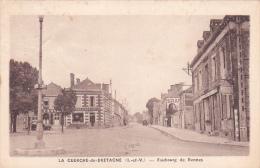 22127 La Guerche De Bretagne Faubourg De Rennes -photo Touin Guin Institutrice Vaccin Petain - La Guerche-de-Bretagne