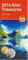 New Zealand 2014 Brochure About Kiwi Treasures Coin - Materiaal