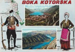 Yugoslavia--1971--Boka Kotorska----baloon--Split --a, Mauriac, Francia - Yugoslavia