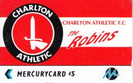 UK - Charlton Athletic F.C.(PYF010), CN : 3PFLY, Tirage %5900, Used - United Kingdom
