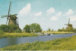Holanda--Kinderdijk--1972----Cachet-Gravenhage--a, Saint Marcel, Francia - Molinos De Viento