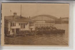 5000 KÖLN, EREIGNIS, Englische Rheinflotille, 1919, Photo-AK, Navy / Marine - Koeln
