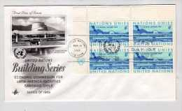 Nations Unies Y&t  N° 188.FDC Année 1969 - New York – UN Headquarters