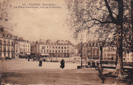 22134 VANNES - La Place Gambetta, Vue De La Rabine  53 Nozais - Vannes