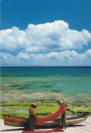 Japon--Okinawa--1997- -A Fishing Village On Le Island--Visible On The Orizont Okinawa Island - Japón