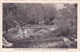 22141 ROZ SUR COUESNON JOLI COIN Vers LES RESERVOIRS ; Lucien Artistique Photo Granville- - France