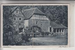 4790 PADERBORN, Alte Mühle / Wassermühle, 1941, Mittelknick - Paderborn