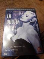 Fellini Ekberg Mastroianni La Dolce Vita Roma Rome - DVDs