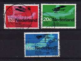 Netherlands - 1968 - Dutch Aviation Anniversaries - Used - 1949-1980 (Juliana)