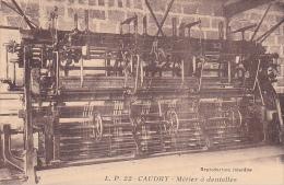 22144 Caudry 59 France - Metier à Dentelles . LP 22 Mode Tissus Usine