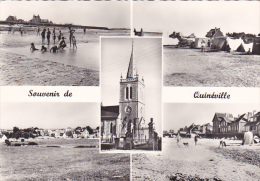 22149 -Souvenir De Quinéville-Vues Multiples Diverses  Le Goubey 61.948 -camping Eglise