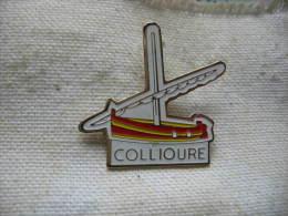 Pin´s Du Chantier Naval De COLLIOURE - Villes