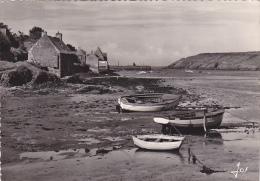 22152 Le Conquet (Finistère) Un Coin Pittoresque, L´arrière Port à Marée Basse 1235 Jos -barque Peche Bateau - Le Conquet