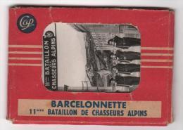 Carnet Mignonettes 04 : BARCELONNETTE - 11eme BATAILLON De CHASSEURS ALPINS - 12 Vues  9 X 6 Cm - Barcelonnette