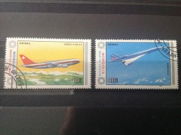 Mongolië - Serie Passagiersvliegtuigen 1984 - Mongolië