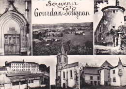 22155 SOUVENIR DE GOURDAN POLIGNAN MULTIVUES -college -éd Larrey - France