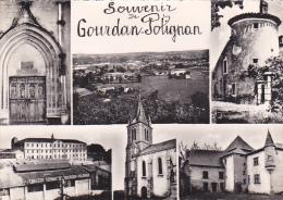 22155 SOUVENIR DE GOURDAN POLIGNAN MULTIVUES -college -éd Larrey