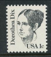 USA 1983 Scott # 1844. Great Americans Issue: Dorothea Dix, MNH (**) - Nuovi