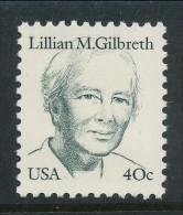 USA 1984 Scott # 1868. Great Americans Issue: Lillian M. Gilbreth, MNH (**) - Nuevos