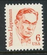 USA 1985 Scott # 1849. Great Americans Issue: Walter Lippman, MNH (**) - Nuevos