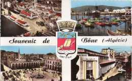 Cpa BONE, Multivues, Armoiries ( 30.37) - Annaba (Bône)