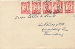 BULAWAYO / SOUTHERN RHODESIA - 1952 , Brief Nach Hamburg - Zimbabwe (1980-...)