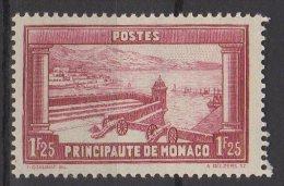 Monaco N° 127  Neuf Avec Charnière * - Nuevos