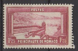Monaco N° 127  Neuf Avec Charnière * - Mónaco