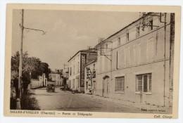16 - SALLES-d' ANGLES - Postes Et Télégraphe - Voir Scan - Non Classificati