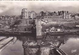22162 Brest France Pont National -4 Bigot Gaby - Bombardement Bombarde Guerre 1939-45 - Guerra 1939-45