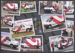 2013 - XX - Bl 205 - Bestelwagens Van Bpost / Camionnettes De Bpost -  (EUROPA) - Belgique