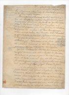 Démission Du Médecin Des Prisons Royales De Lyon,remplacé Par Berthelet De Barbot.29 Juillet 1789.sur Velin. - Documents Historiques