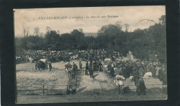 VILLERS BOCAGE - Le Marché Aux Bestiaux - France