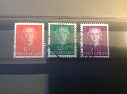 Nederlandse Antillen - Serie Koningin 'En Face' 1950 - Antillen